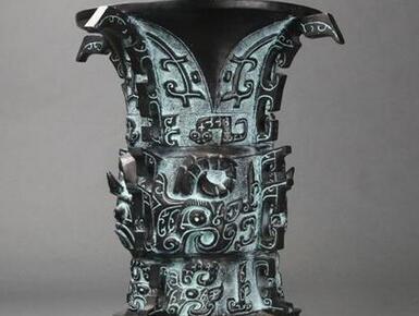 """3000年前青铜器上面刻有铭文:""""中国""""二字"""